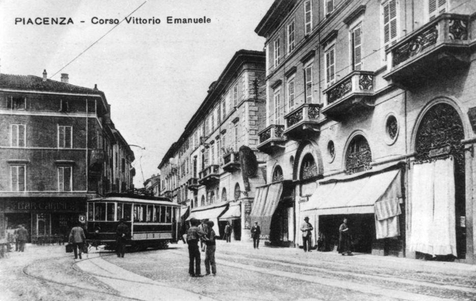 Tramway in Corso Vittorio Emanuele