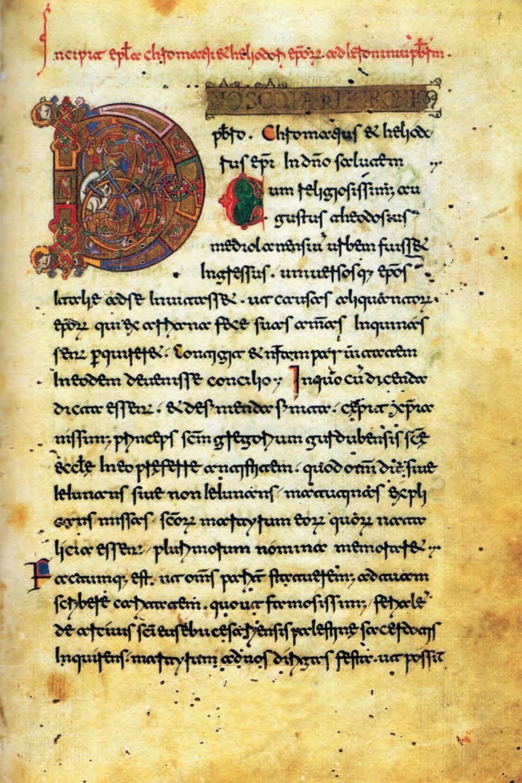 Martyrologium Casinense in scrittura beneventana, (1094-1105)