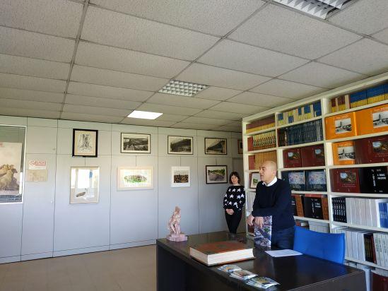 Leonardo e Livia Bragalini illustrano il reparto editoriale
